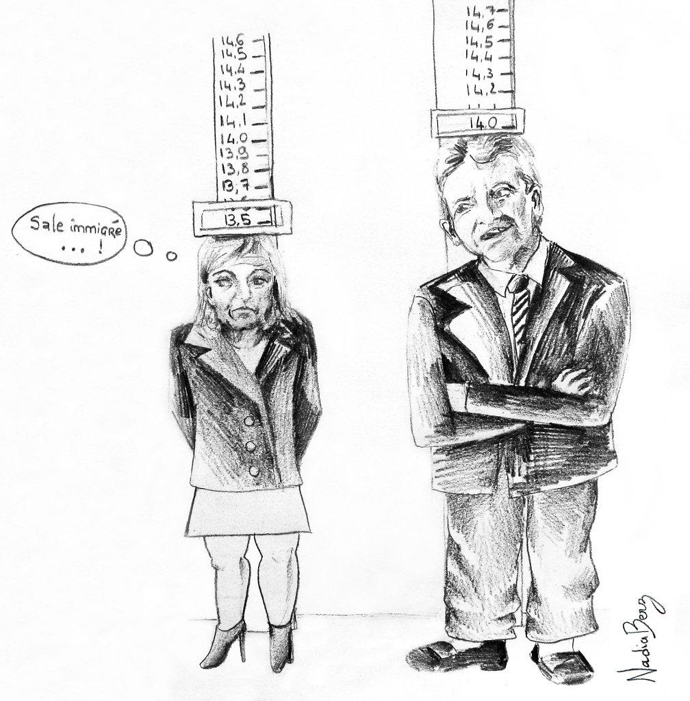 Mélenchon dépasse Le Pen