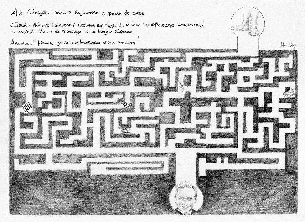 Labyrinthe tronc