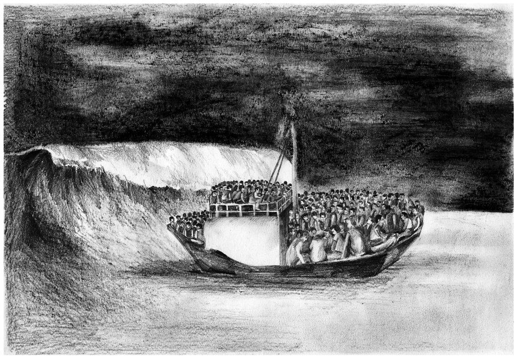 Bateaux d'immigrés