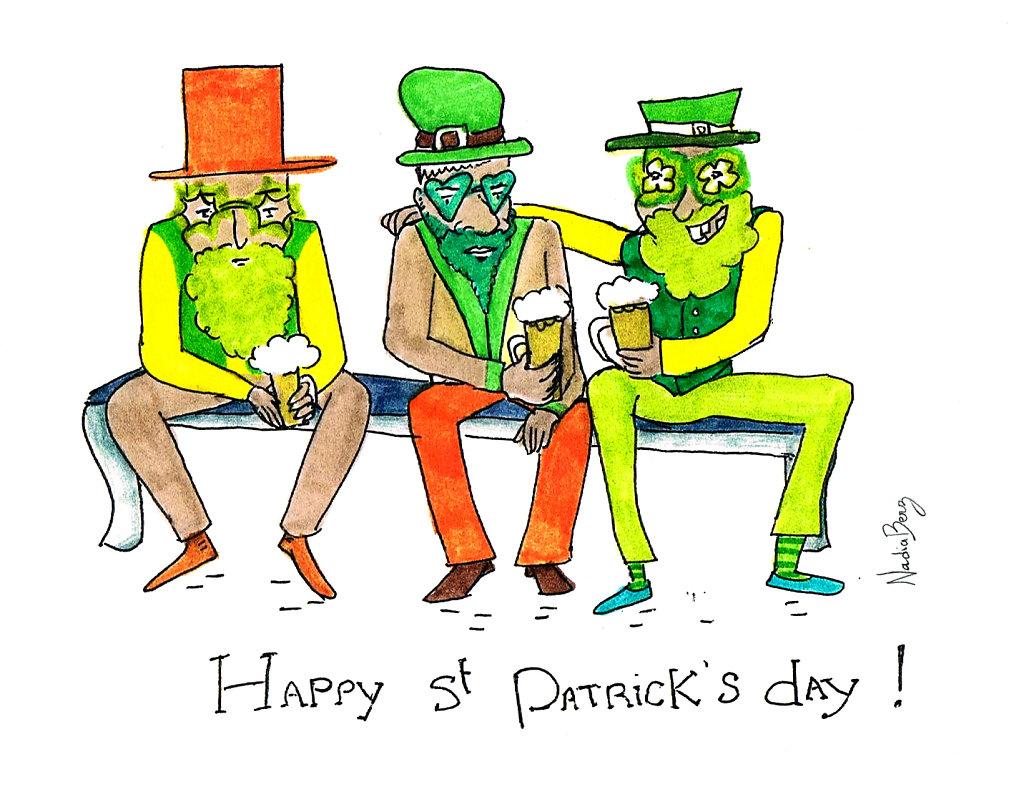 Happy Saint-Patrick's day !