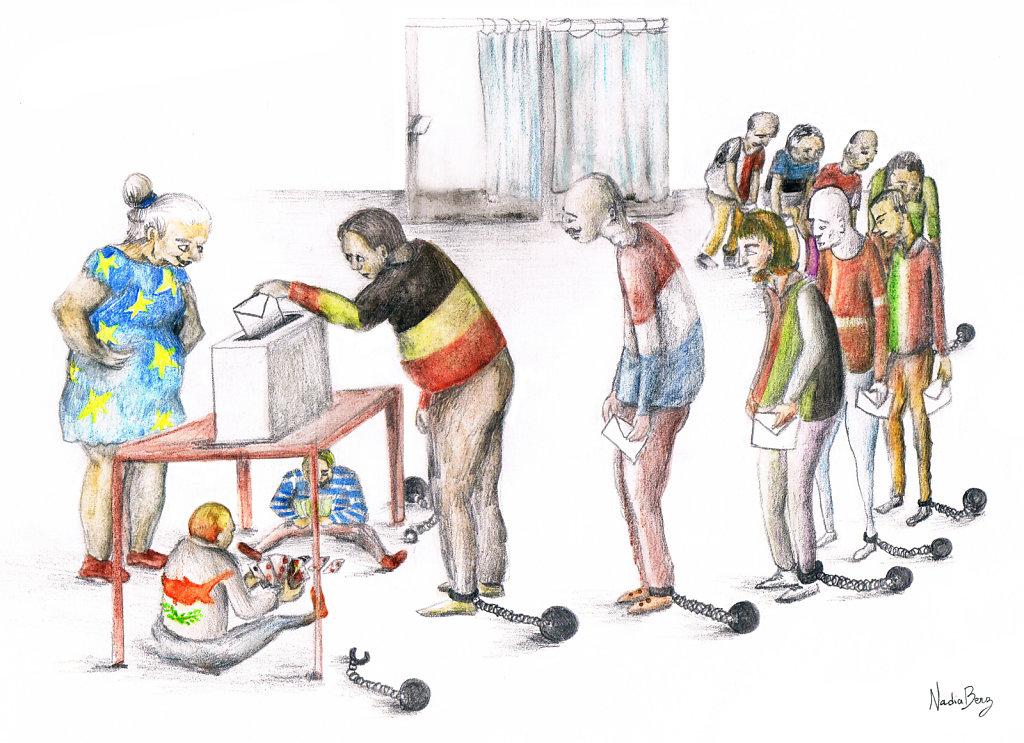 L'absentéisme aux Européennes. Et si le vote était obligatoire ?