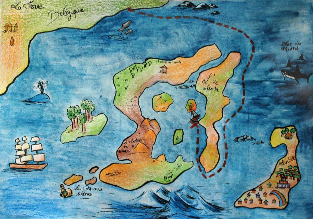 La carte d'Epinos