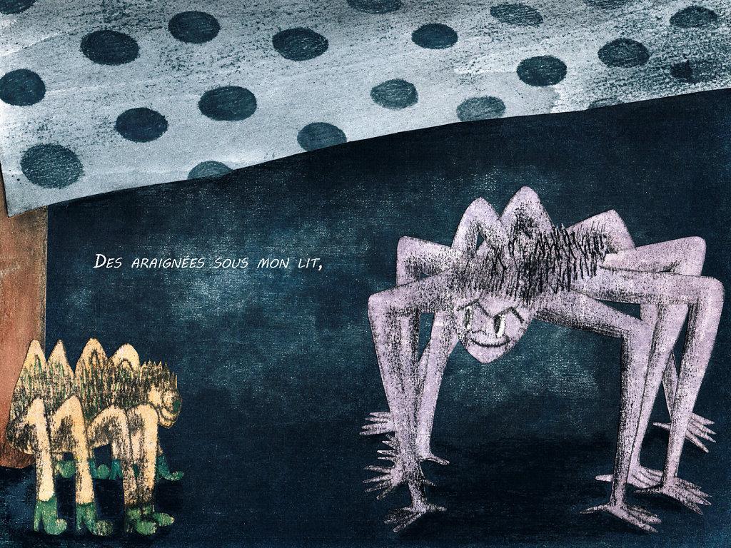 Des araignées sous mon lit